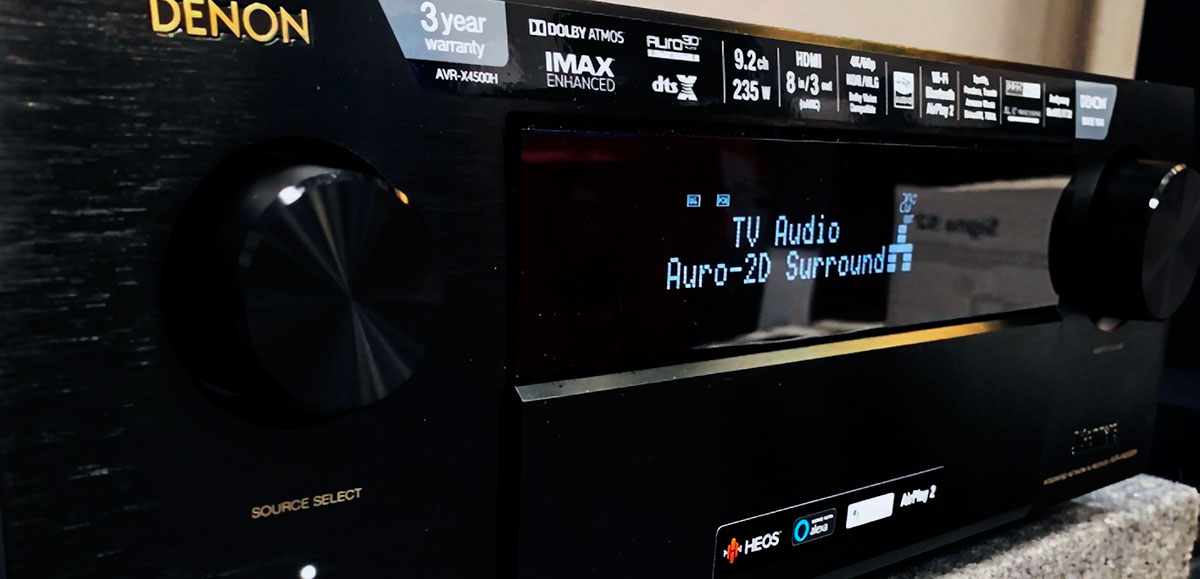 9.2 channel receiver